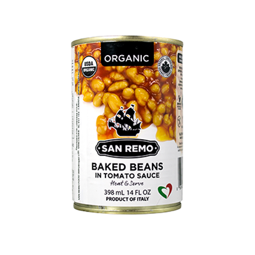 San Remo: Organic Baked Beans