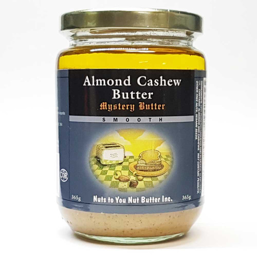 Nuts To You: Almond Cashew Butter