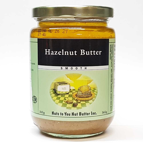 Nuts To You: Hazelnut Butter Smooth