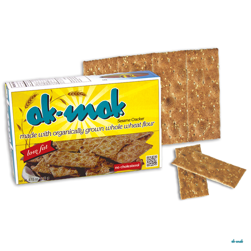 Ak-Mak: Whole Wheat Sesame Cracker