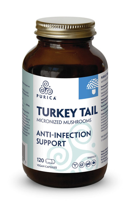 Purica: Turkey Tail (120 vcaps)