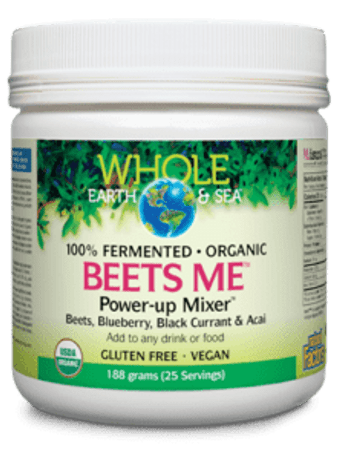 Whole Earth & Sea: Beets Me Power-up Mixer