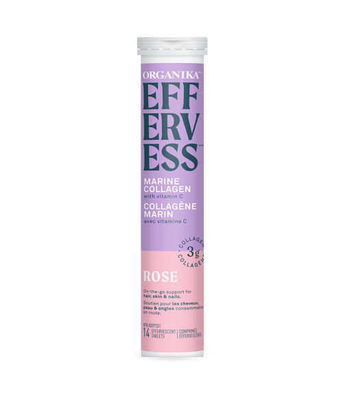 Organika: Effervess Marine Collagen - Rose
