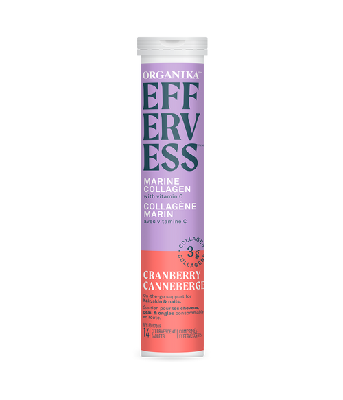 Organika: Effervess Marine Collagen - Cranberry