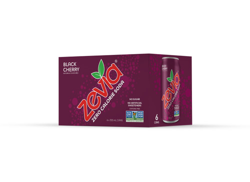 Zevia: Black Cherry Soda (6 pack)