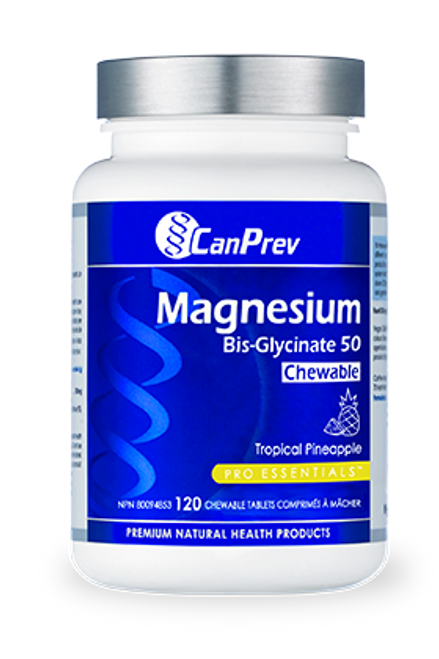 CanPrev: Magnesium Bis Chewable (120 Tabs)