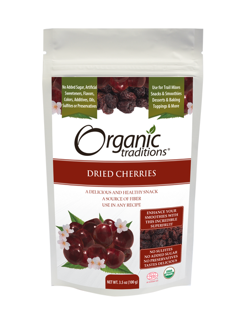 Organic Traditions Organic Dried Cherries