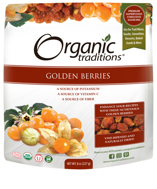 Organic Traditions: Organic Golden Berries (227g)