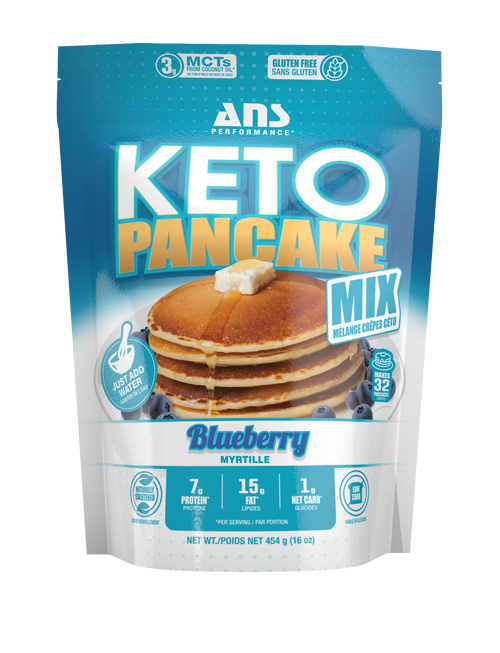 ANS Performance: Keto Pancake Mix - Blueberry