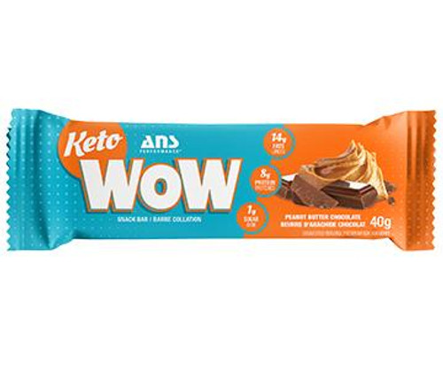 ANS Performance: KetoWOW Bar - Peanut Butter Chocolate