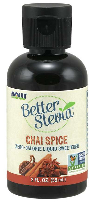 Now: Better Stevia Chai Spice (59ml)