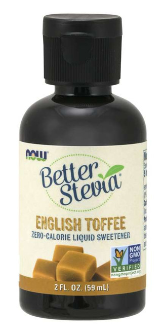 Now: Better Stevia English Toffee