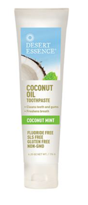 Desert Essence: Coconut Oil Toothpaste - Coconut Mint (176g)