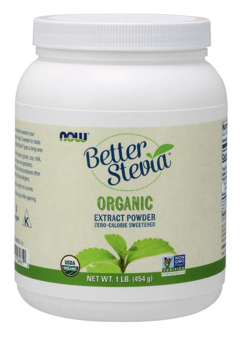 NOW Foods: Better Stevia - Organic (454g)