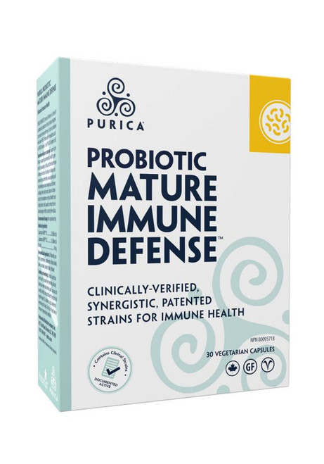 Purica: Probiotic Mature Immune Defense