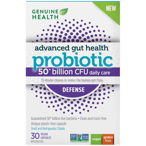 Genuine Health: Advanced Gut Health Probiotic Defense