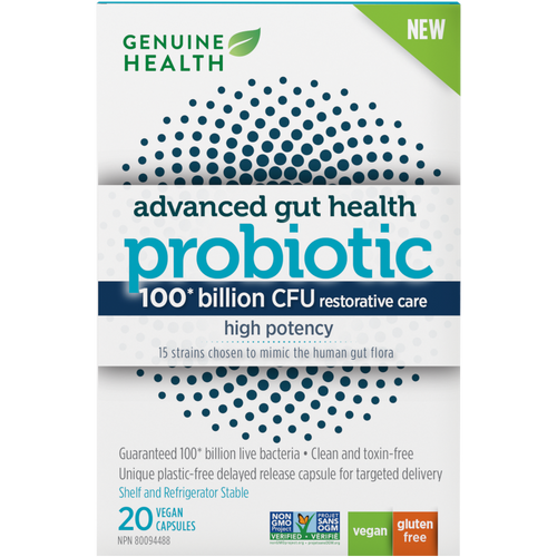 Genuine Health: Advanced Gut Health Probiotic High Potency