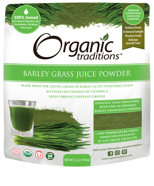 Organic Traditions: Barley Grass Juice Powder