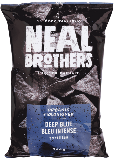Neal Brothers: Organic Deep Blue Tortilla Chips