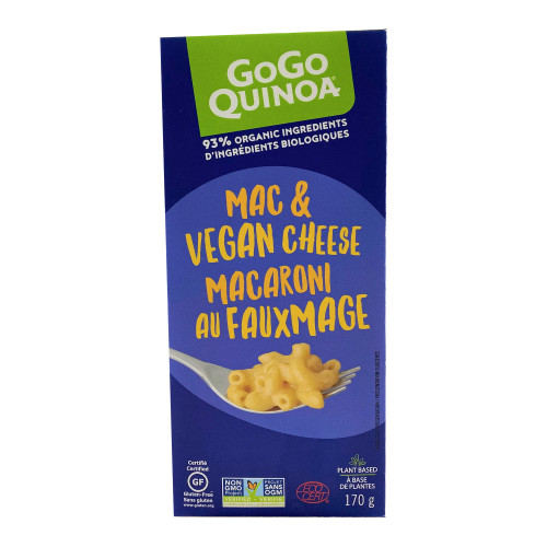GoGo Quinoa: Mac & Vegan Cheese