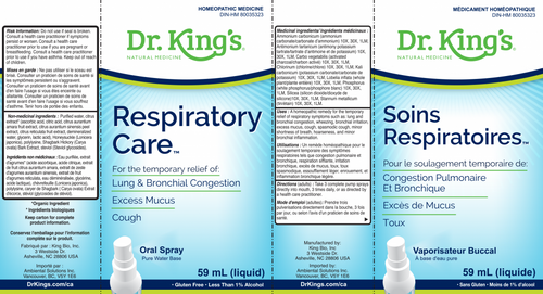 Dr. King's: Respiratory Care