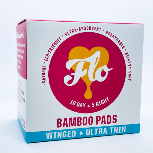 Here We Flo: Flo - Bamboo Pads - Winged+Ultra Thin