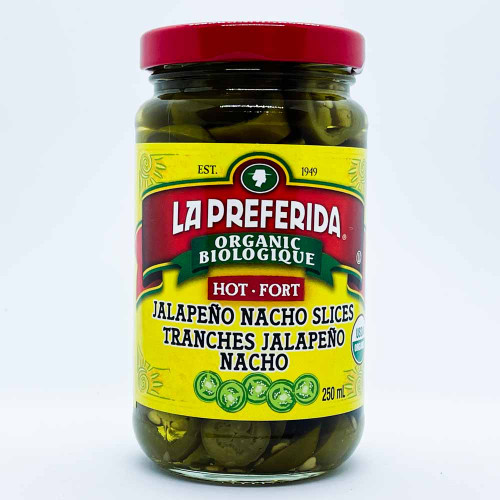 La Preferida: Organic Jalapeno Nacho Slices - Hot