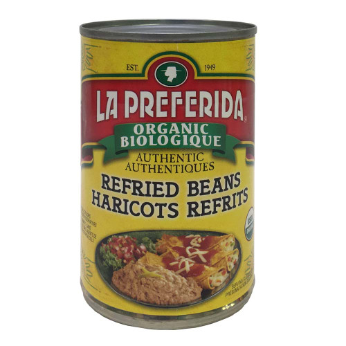 La Preferida: Organic Refried Beans