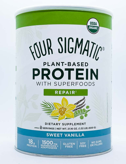 Four Sigmatic: Plant-Based Protein - Sweet Vanilla