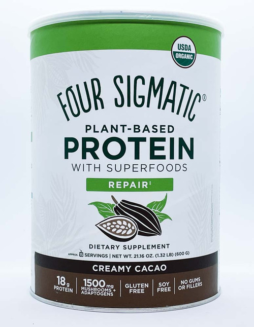 Four Sigmatic: Plant-Based Protein - Creamy Cacao