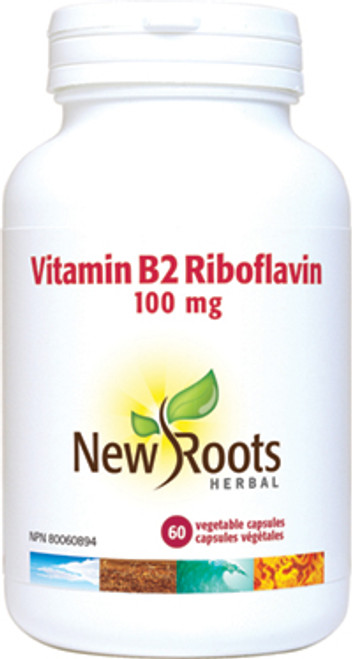 New Roots: Vitamin B2 100mg