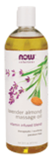 Now: Lavender Almond Massage Oil (473ml)