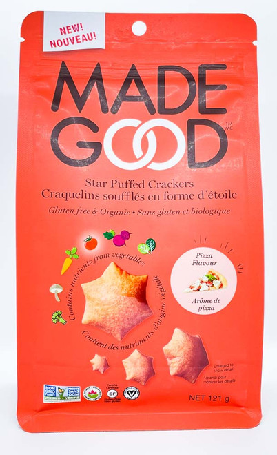 Star Puffed Crackers - Pizza Flavour
