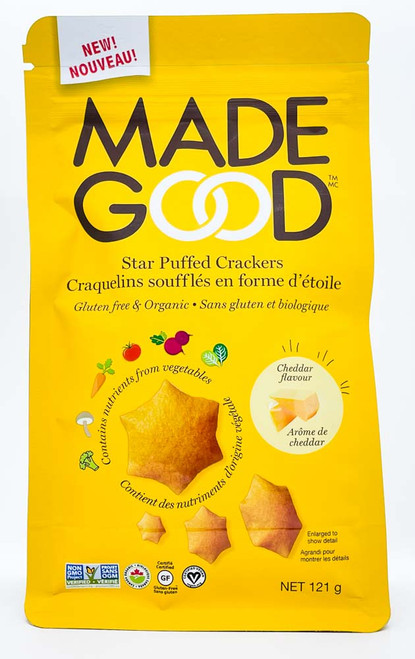 Star Puffed Crackers - Cheddar Flavour