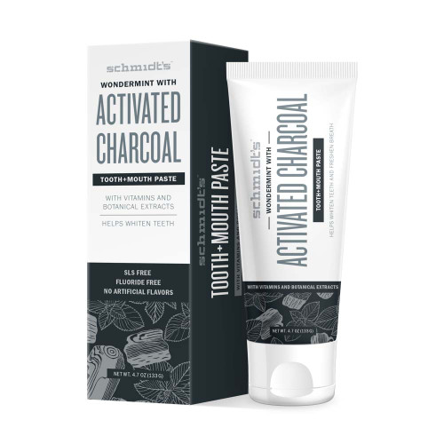 Tooth + Mouth Paste - Activated Charcoal