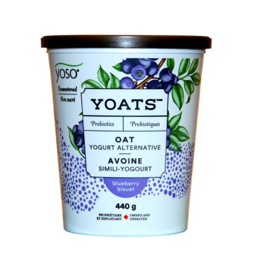 YOATS - Unsweetened Blueberry