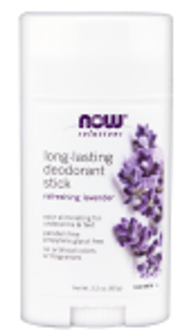 Now: Long Lasting Deodorant Stick - Refreshing Lavender (62g)