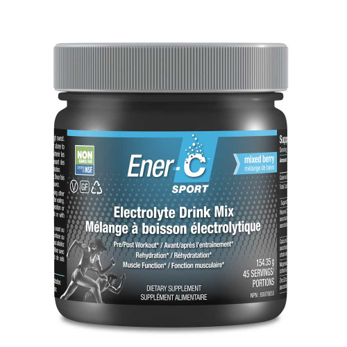 Ener-C: Electrolyte Drink Mix - Mixed Berry Tub