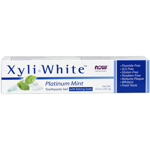 Now: XyliWhite Toothpaste Platinum Mint Gel with Baking Soda (181g)