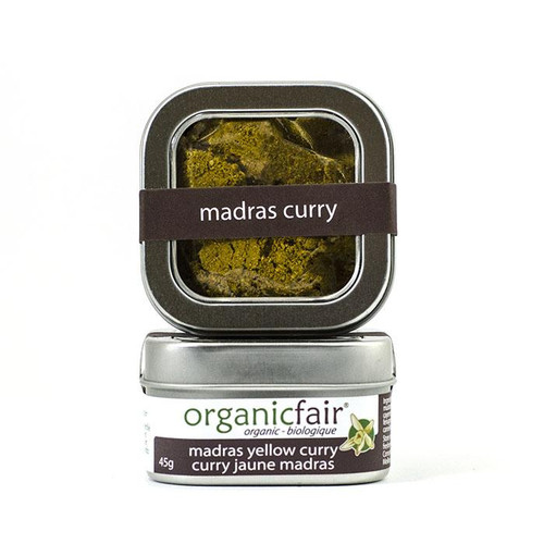 Organic Fair: Madras Yellow Curry