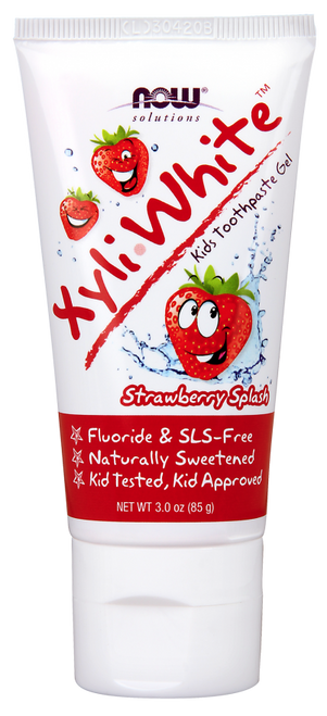 Now: XyliWhite Strawberry Kids Toothpaste Gel (85g)
