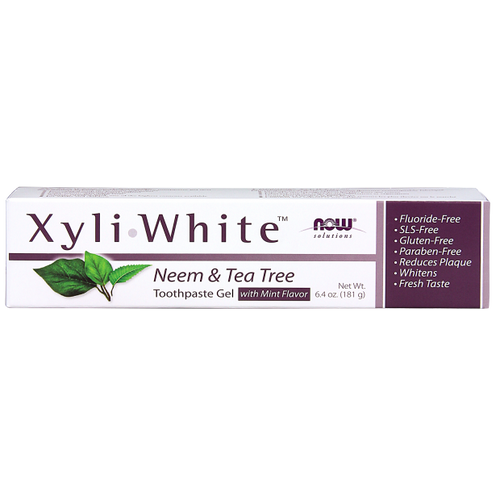 Now: XyliWhite Neem & Tea Tree Toothpaste Gel with Mint Flavour (181g)