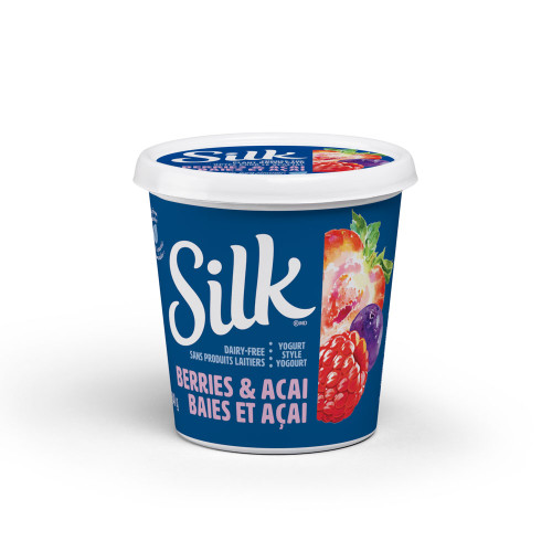 Silk: Almond Yogurt - Berries & Acai