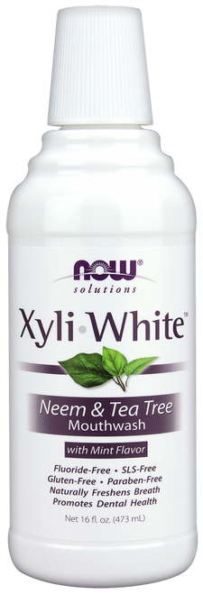 Now: XyliWhite Neem & Tea Tree Mouth Wash (473ml)