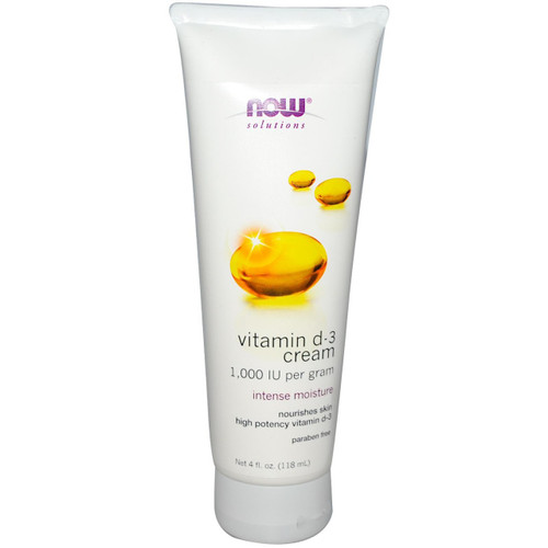 Now: Vitamin D-3 Cream (118ml)