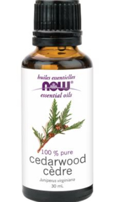 Now: 100% Pure Cedarwood Oil (30ml)