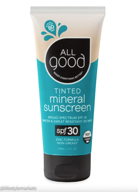 All Good: Tinted Mineral Sunscreen SPF 30