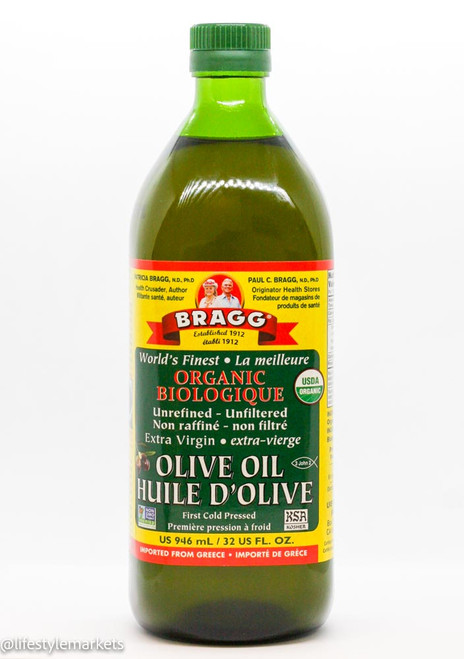 Bragg: Organic Extra Virgin Olive Oil (946ml)