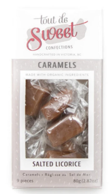 Tout de Sweet: Caramels - Salted Licorice