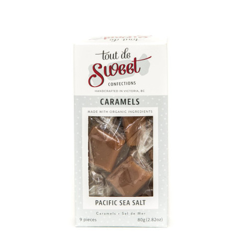 Tout de Sweet: Caramels - Pacific Sea Salt